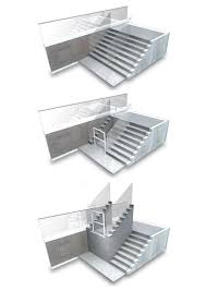 Retractable Stairs Design Platform Stairs Design Ebizby Design