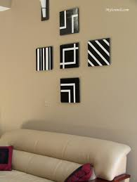 decorating easy wall decor ideas for living room with black and