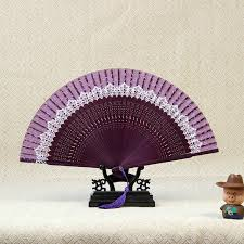 wholesale fans new arrival japeneses black leques folding silk fans