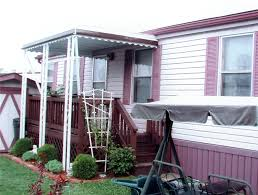 Porch Awnings Mobile Home Porch Awning Mr Enclosure Michigan Sunrooms Awnings