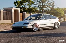 stanced honda honda crx on stance encore stance wheels