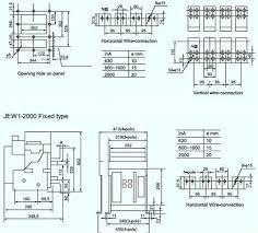 air circuit breakerjew1 dw45 3200 2500a china mainland circuit
