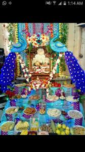 Decoration Themes For Ganesh Festival At Home by 57 Best Ganpati Decor Images On Pinterest Hindus Indian Wedding