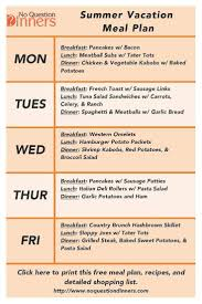 Simple Recipe Ideas For Dinner Best 10 Beach Vacation Meals Ideas On Pinterest Beach Foods