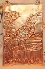 kopper kard postcards vintage hummingbird postcard copper card kopper kard
