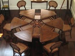 dining room tables expandable expandable round dining room tables popular round dining room
