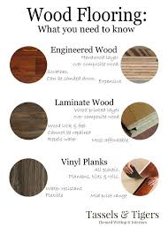 the difference between vinyl laminate and wood floors tassels