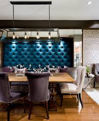 Contemporary Chandeliers For Dining Room Magnificent Candice Olson Designs With Tufted Upholstery Wall