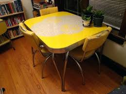 retro yellow kitchen table retro kitchen table and chairs full size of home yellow kitchen