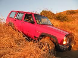 orange jeep cherokee jeep cherokee