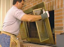 backyards how install glass fireplace doors this old house howto
