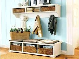 entryway rack entryway storage bench with coat rack image of entryway storage