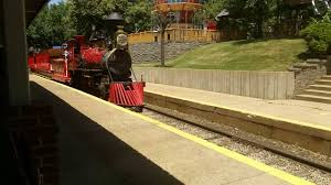 St Louis Six Flags Ticket Prices Steam Train At Six Flags St Louis Youtube