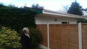 neighbours u0027 fury over extension built into their garden