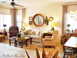 a stroll thru life country french checks family room done