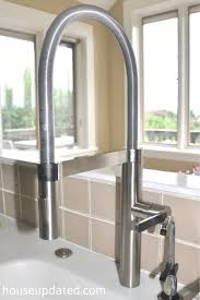 how to install a new kitchen faucet our most awesomest new kitchen faucet house updated