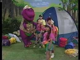 The Backyard Show Book Barney by Barney U0026 The Backyard Gang Campfire Sing Along Part 4 Youtube