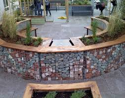 220 best rock cage images on pinterest gabion wall garden ideas