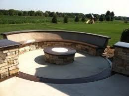 Concrete Patio Table Set Concrete Patio Benches Foter