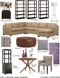 home design concept board woodland hills ca residence entry living room dining