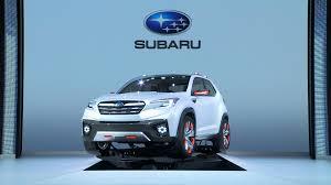 subaru viziv truck subaru viziv future concept walkaround 2015 tokyo motor show