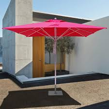 10 Foot Patio Umbrella Galtech Sr Series 10 Ft Square Aluminum Commercial Patio Umbrella