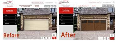 designing a garage garage door designer