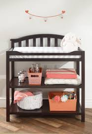 Changing Table Furniture Sorelle Berkley Changing Table Espresso Babies R Us