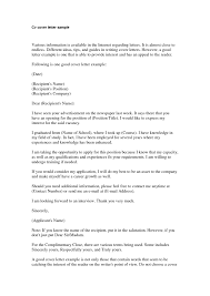 Closing For Cover Letter Close A Cover Letter Images Cover Letter Ideas