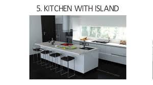 types of kitchen designs styles