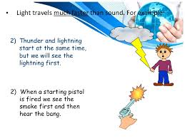 which travels faster light or sound images Properties of light jpg