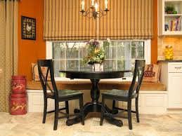 Black Kitchen Table Chairs by Bay Window Bench Table Bay Window Bench Family Room Traditional