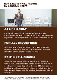 resume templates pdf free hr and admin manager resume samples resume by 4jobz in