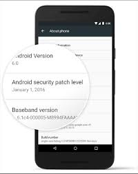 new update for android security center monthly security updates