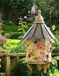 Front Garden Decor Bird House U2013 Top Easy Backyard Garden Decor Design Project