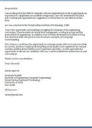 Sample Of Email Cover Letter With Resume Attached by Sample Email Cover Letter With Resume Included