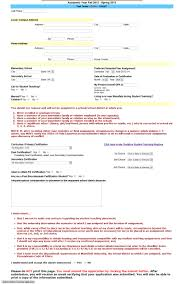 Fiance Letter Of Intent by Sample Application Packet Mansfield University