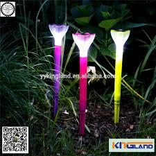 flower pot solar light tulip solar garden light led garden light tulip solar garden