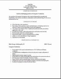 computer tech cover letter professional computer technician cover