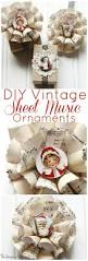 sheet music christmas ornaments the graphics fairy