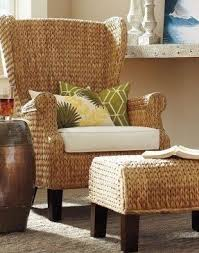 High Back Wing Armchairs High Back Wicker Arm Chair Foter
