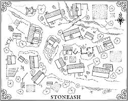 The Villages Map Msjx The Village Of Stoneash Rpg Maps Pinterest Rpg