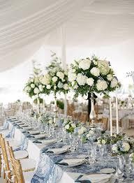 hydrangea wedding centerpieces blue and white wedding by schollaert hydrangea