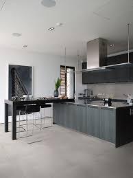 Gray Tile Kitchen - metropolis stone source