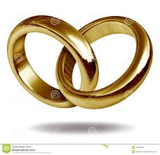 intertwined wedding rings interlocking wedding rings gold in a heart shape clipart free clip