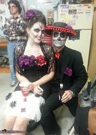 Dia De Los Muertos Costumes Dia De Los Muertos Day Of The Dead Couples Costume