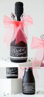 bridal luncheon favors make these mini chagne brunch invitations mini