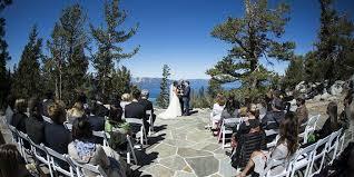 south lake tahoe wedding venues heavenly mountain resort blue sky terrace weddings