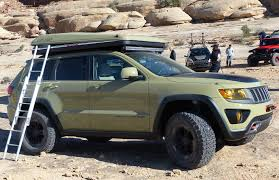 green jeep cherokee the jeep grand cherokee overlander concept what it u0027s like to