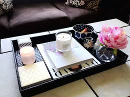 silver coffee table tray coffee table with tray 5 tips to style your coffee table tip 1 use a